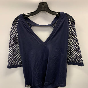 Primary Photo - BRAND: VENUS STYLE: ATHLETIC TOP SHORT SLEEVE COLOR: NAVY SIZE: 2X SKU: 305-30512-27774