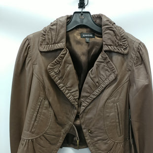 Primary Photo - BRAND: BEBE STYLE: JACKET LEATHER COLOR: TAUPE SIZE: M SKU: 305-30511-19986