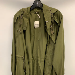 Primary Photo - BRAND: FREE PEOPLE STYLE: JACKET OUTDOOR COLOR: OLIVE SIZE: PETITE   SMALL OTHER INFO: NWT SKU: 305-30511-20201