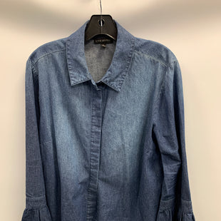 Primary Photo - BRAND: LANE BRYANT STYLE: BLOUSE COLOR: DENIM SIZE: 16 SKU: 305-30512-28536