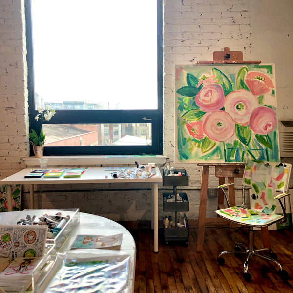 New Year, New Studio Space at Dilworth Artisan Station