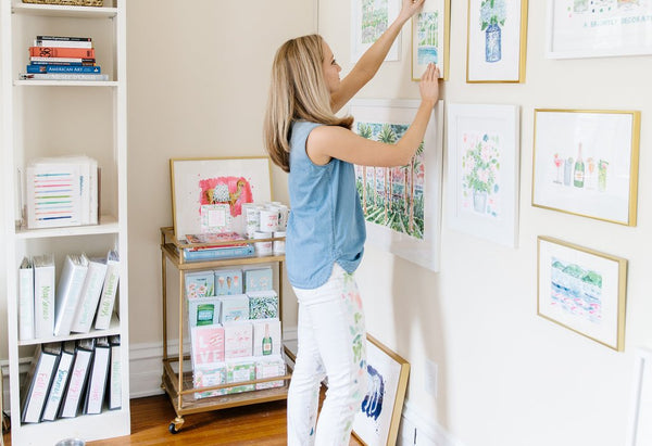 Stop, HAMMER TIME! Tips for Hanging Artwork Like a Pro