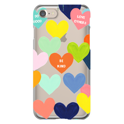 Confetti Hearts Phone Case