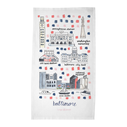 Baltimore, MD Tea Towel