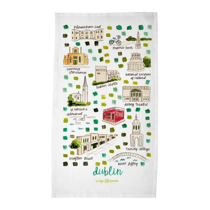 Dublin Tea Towel