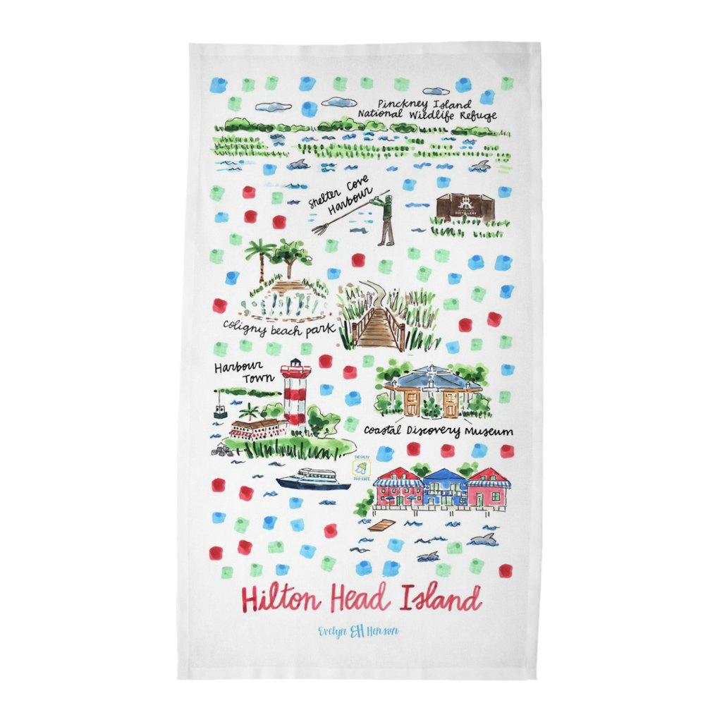 Hilton Head Island Tea Towel