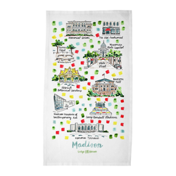 Madison, WI Tea Towel