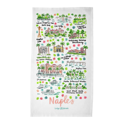 Naples, FL Tea Towel