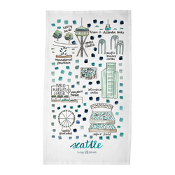 Seattle, WA Tea Towel