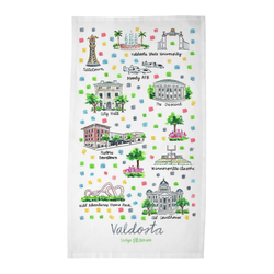 Valdosta, GA Tea Towel