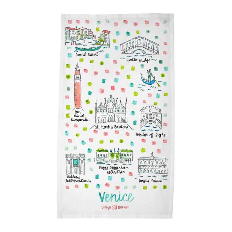 Venice Tea Towel