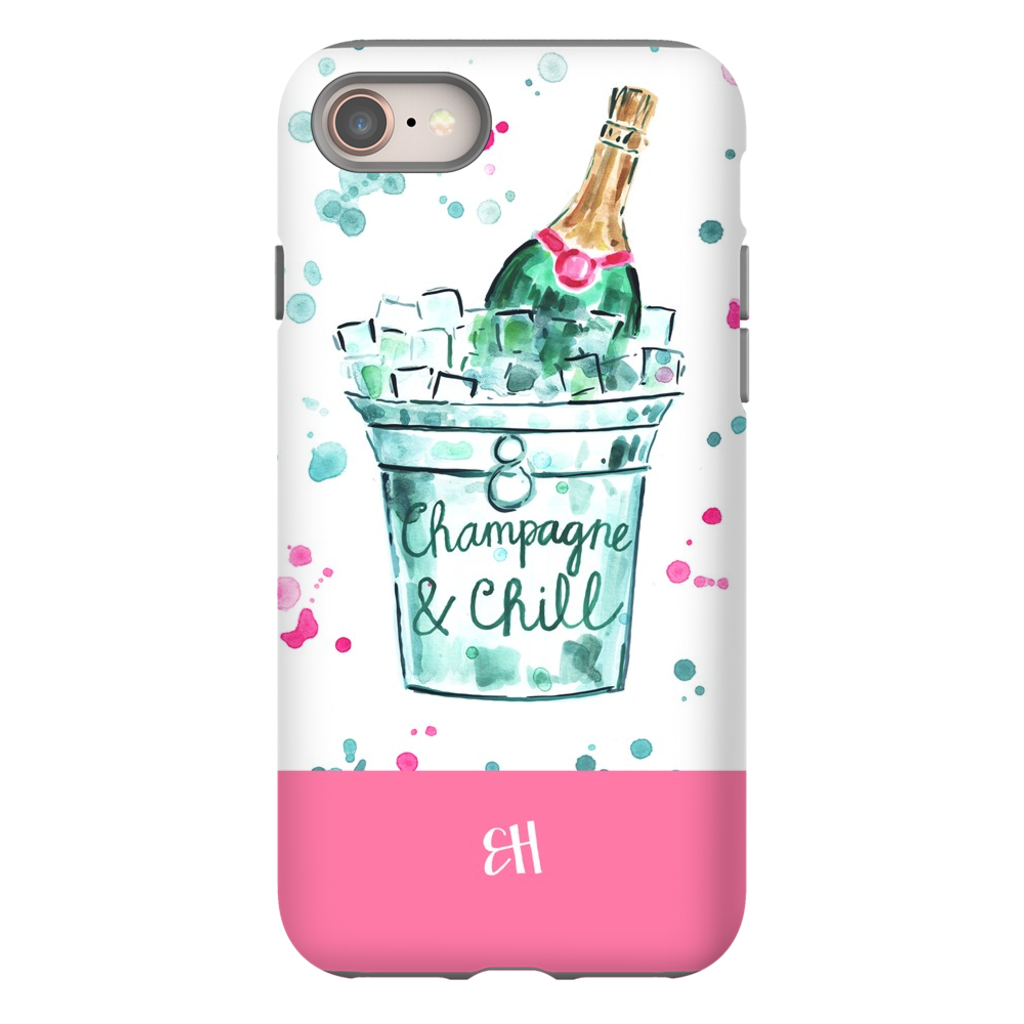 Champagne and Chill Phone Case
