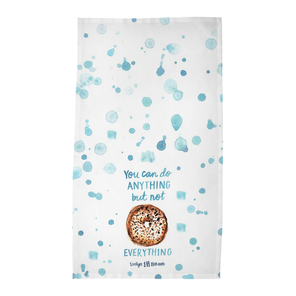 Bagel Tea Towel