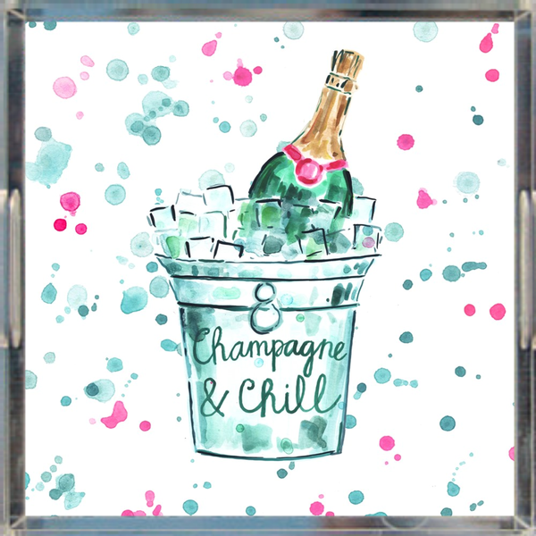 Champagne & Chill Tray