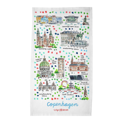 Copenhagen Tea Towel