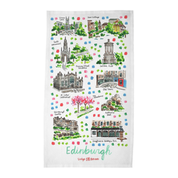 Edinburgh Tea Towel