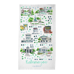 Kalamazoo, MI Tea Towel