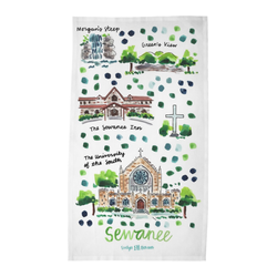 Sewanee, TN Tea Towel