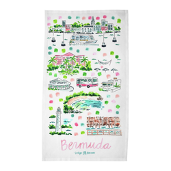 Bermuda Tea Towel