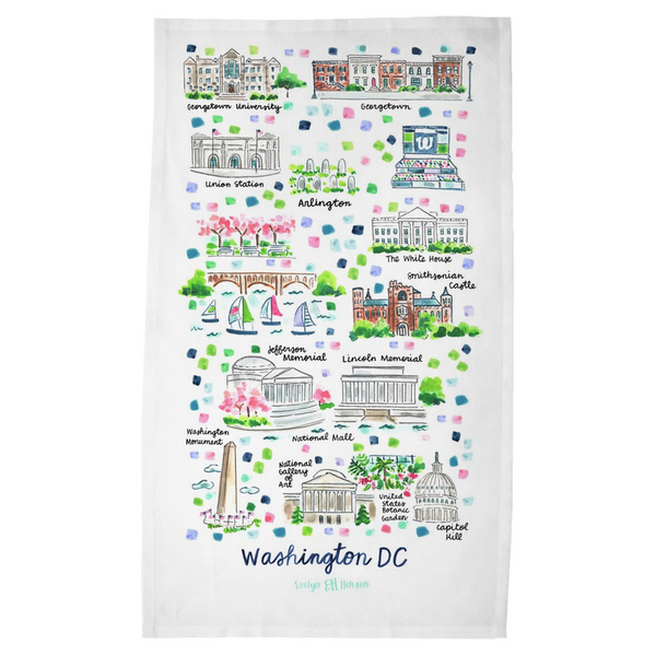 Washington DC Tea Towel