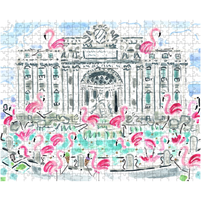 Flamingo to Rome Puzzle