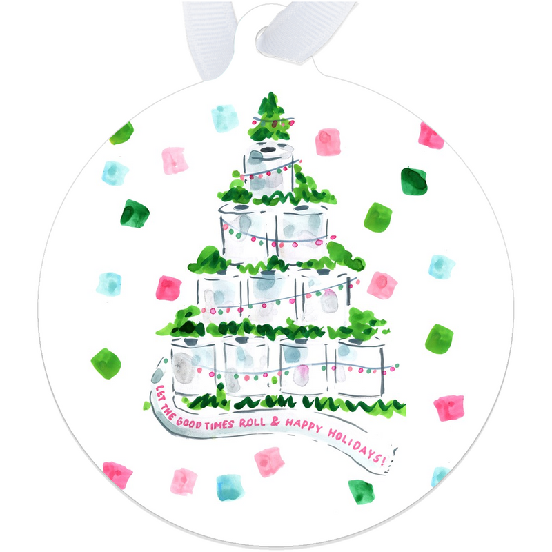 Toilet Paper Tree Ornament
