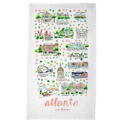 Atlanta, GA Tea Towel