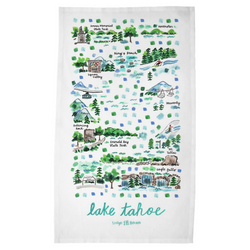 Lake Tahoe Tea Towel
