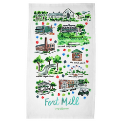 Fort Mill, SC Tea Towel