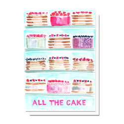 All The Cake Card