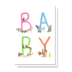 Baby Animals Card