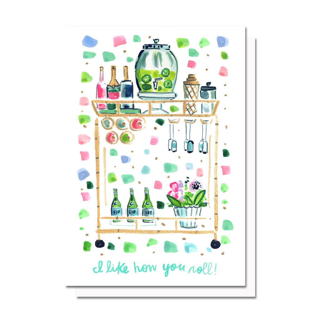 Bar Cart Card