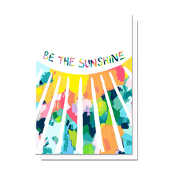 Confetti Sunshine Card