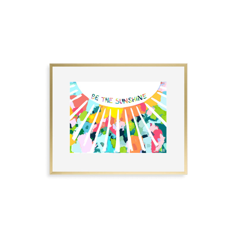 "The ""Confetti Sunshine"" Art Print"