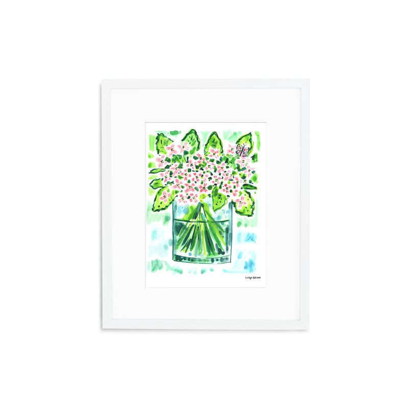 "The ""Hydrangea Butterfly"" Fine Art Print"