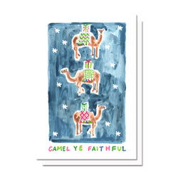 Camel Ye Faithful Card