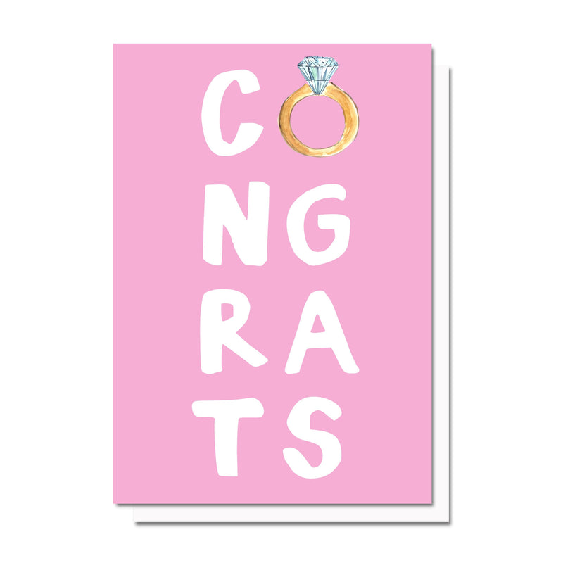 Engagement Congrats Card