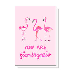 Flamingoals Card