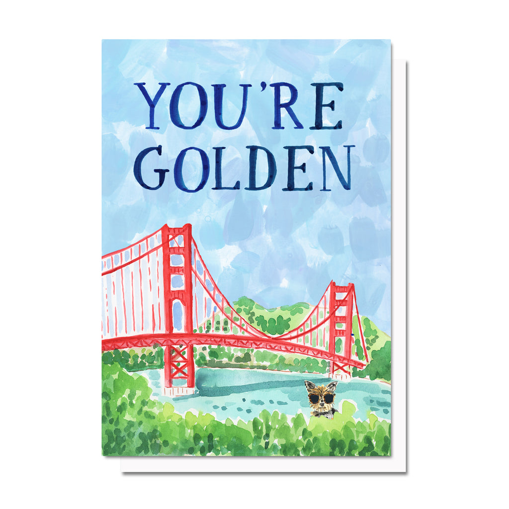 You're Golden Card