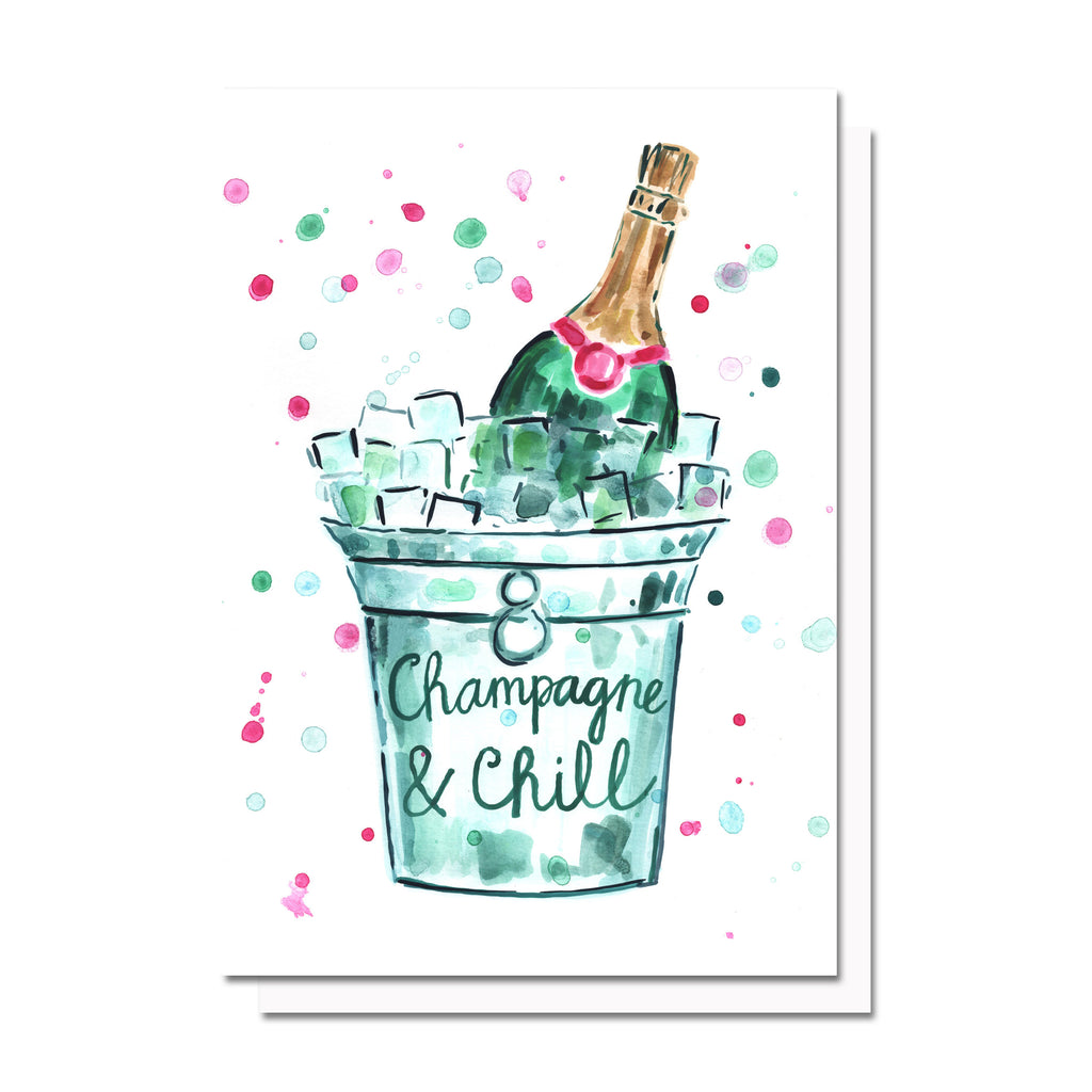 Champagne & Chill Card