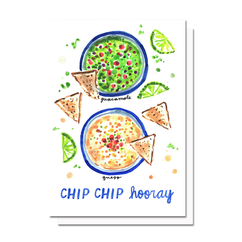Chip Chip Hooray Card