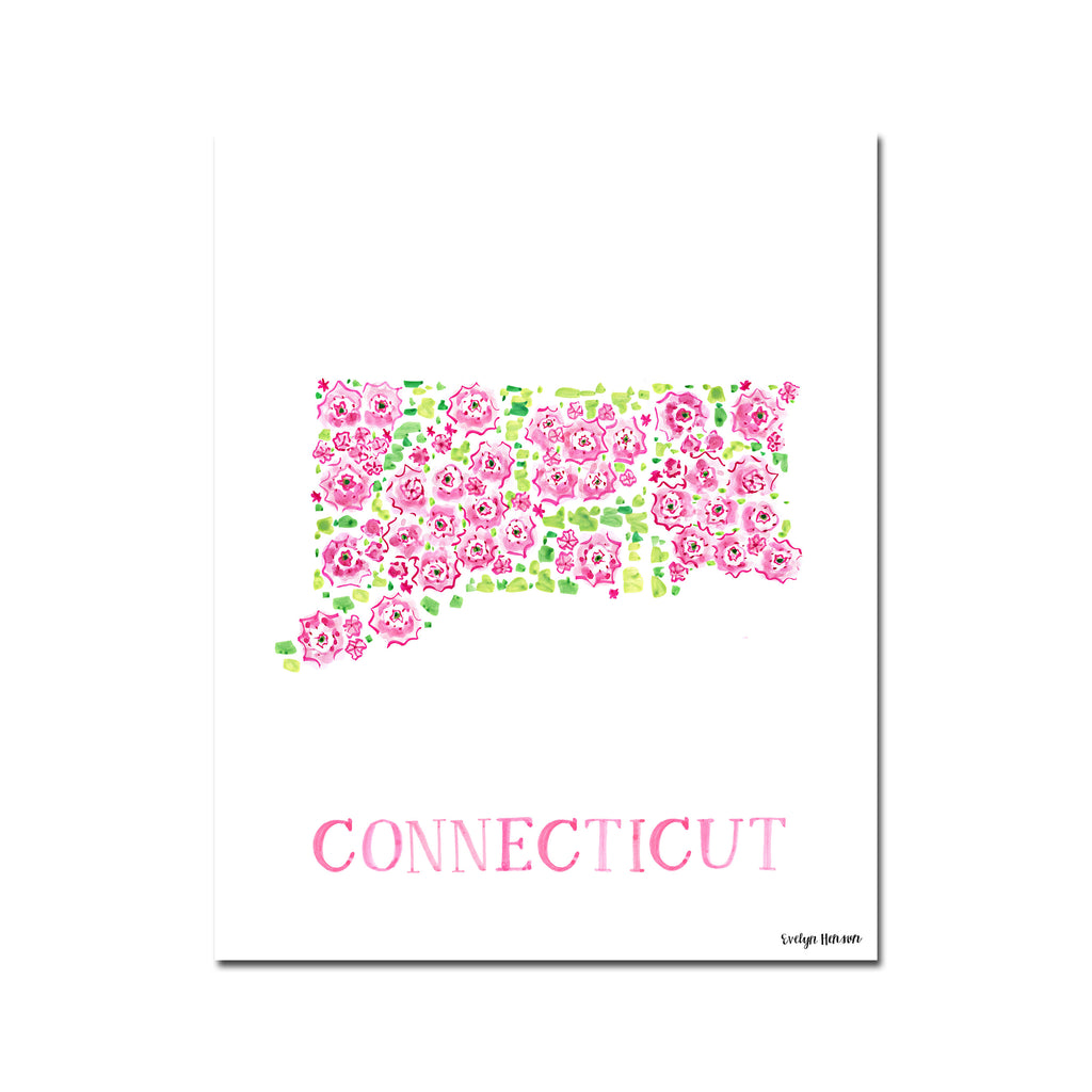 Connecticut Mountain Laurel Flower Print