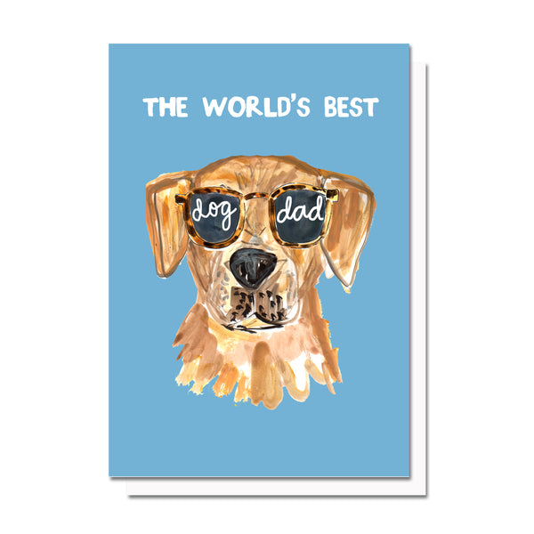 World's Best Dog Mom/Dad Card