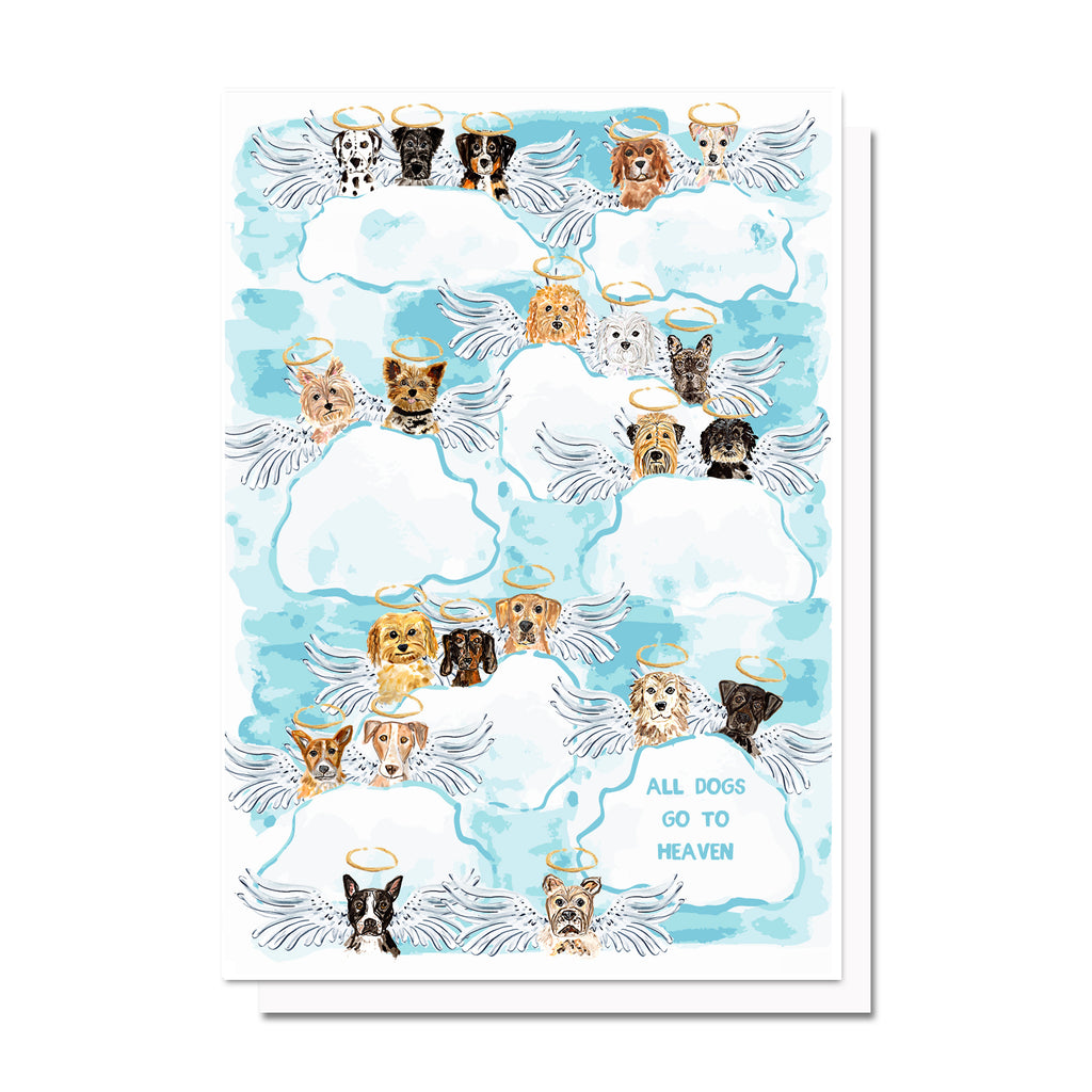 All Dogs/Cats Go to Heaven Card