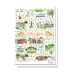 Dunedin, FL Map Card
