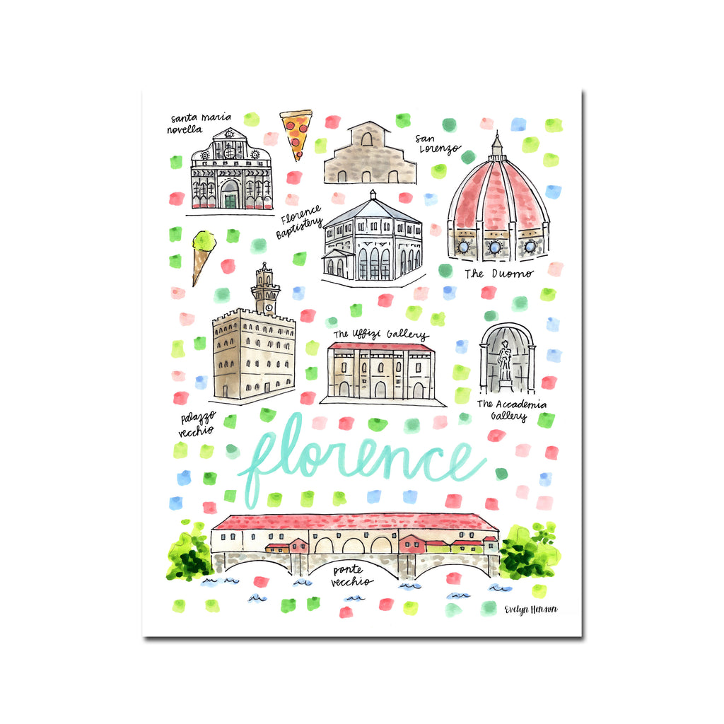 """Florence, Italy"" Fine Art Print"