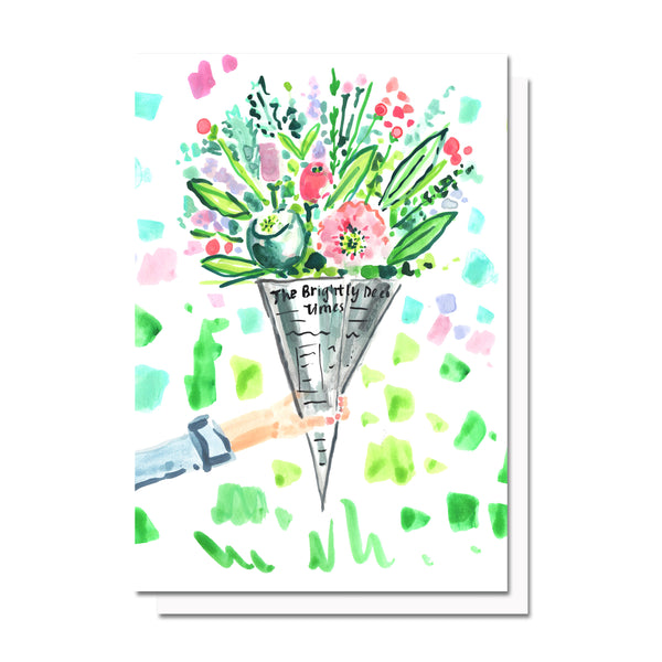 Flower Delivery Card