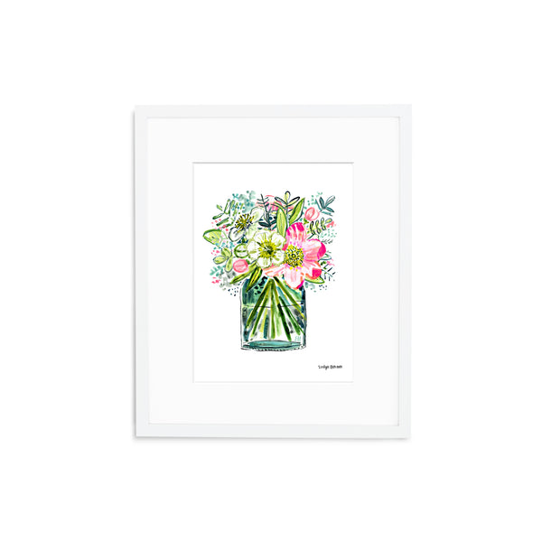 "The ""Flowers of Happiness"" Fine Art Print"