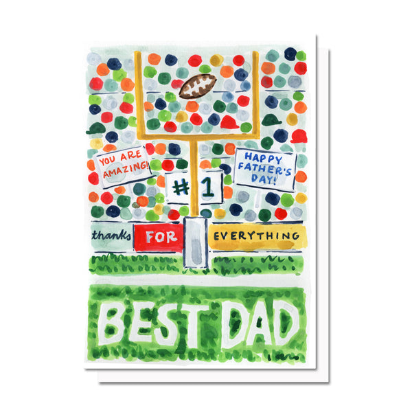 Father's Day Football Card