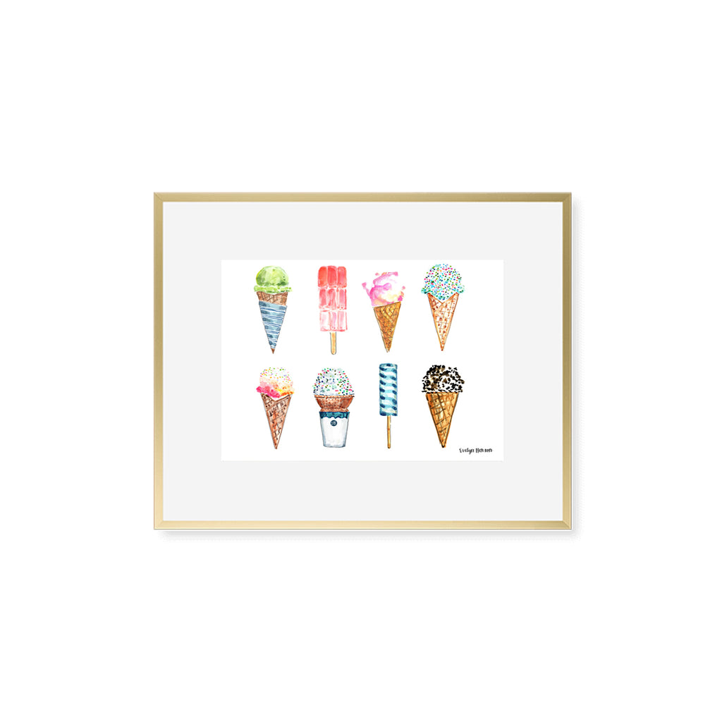 "The ""Freezer Treats"" Fine Art Print"
